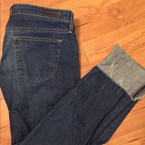 "Adriano Goldschmied Sz 27 ""The Stevie Cuff"" Jeans"